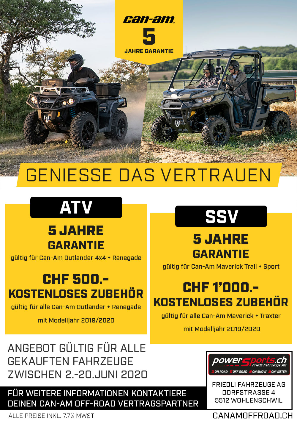 Can-Am Off-Road Angebote