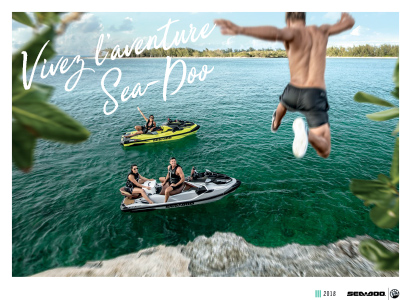 Sea Doo Brochure Lineup 2018